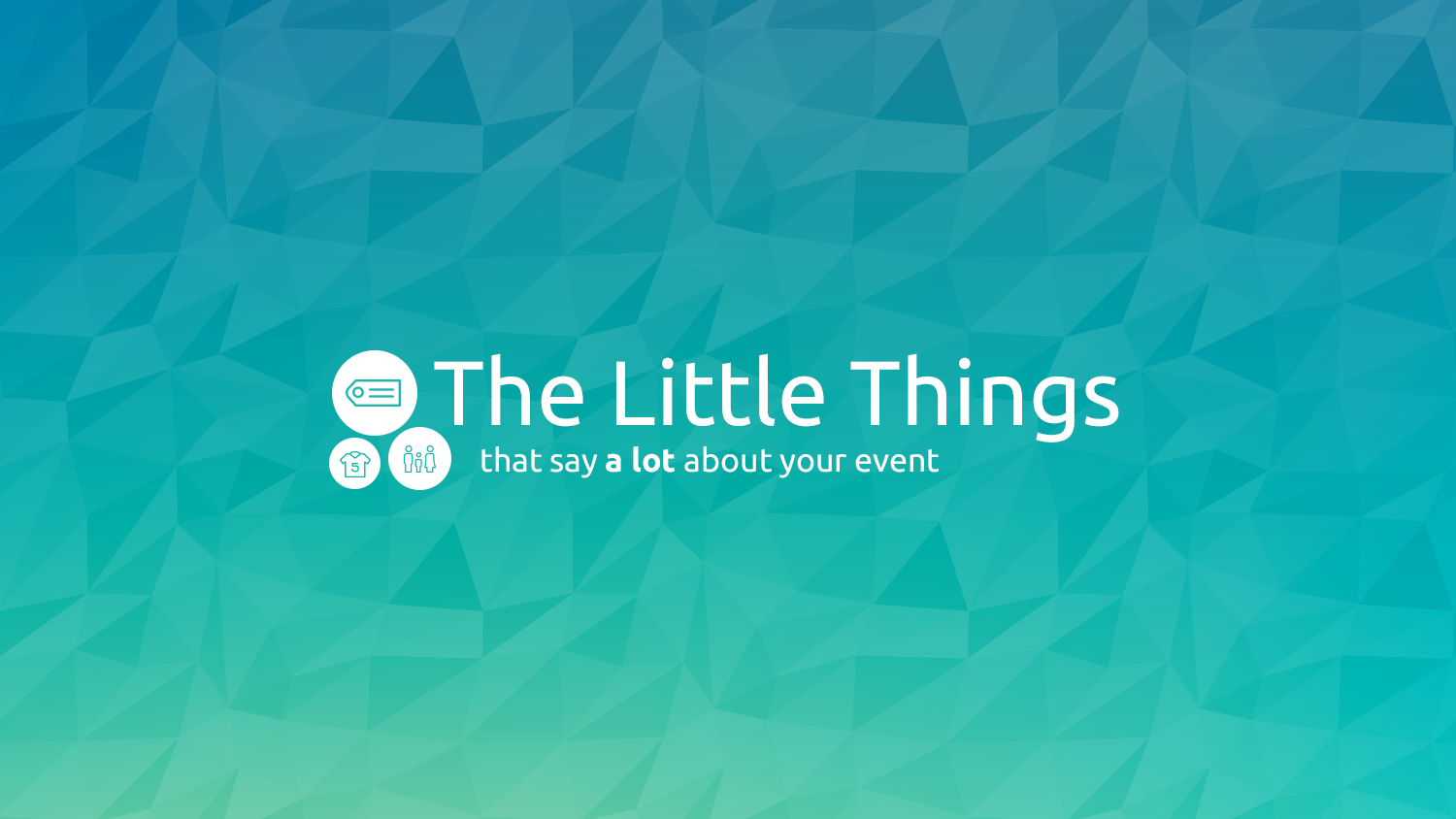 The little things graphic