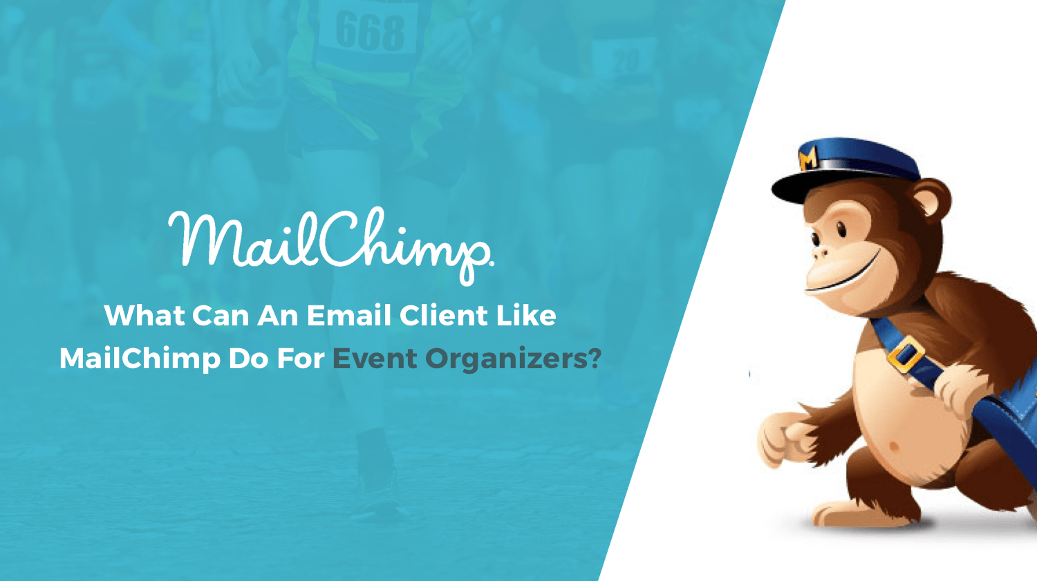 Mailchimp monkey and title