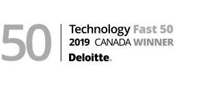 Deloitte Technology Fast 50 2019 Canada Winner